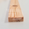 Kép 1/2 - 10x30x2200 Barkácsléc csomómentes (téglalap)