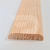 Kép 1/2 - 10x50x2200 Barkácsléc csomómentes 2 él lekerekítve (téglalap)