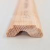 Kép 1/2 - 12x35x2200 Barkácsléc csomómentes díszmart (ajtó szegőléc)