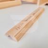 Kép 2/2 - 12x35x2200 Barkácsléc csomómentes díszmart (ajtó szegőléc)
