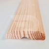Kép 1/2 - 12x50x2200 Barkácsléc csomós díszmart (ajtó szegőléc)