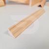 Kép 2/2 - 20x20x2200 Barkácsléc csomómentes díszmart (háromszög)