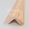 Kép 1/2 - 20x20x2200 Barkácsléc csomómentes díszmart (pipaléc)
