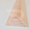 Kép 1/2 - 25x25x2000 Barkácsléc csomómentes (háromszög)