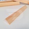 Kép 2/2 - 25x25x2000 Barkácsléc csomómentes (háromszög)