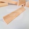 Kép 2/2 - 30x30x2000 Barkácsléc csomómentes díszmart (háromszög)
