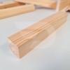 Kép 2/2 - 30x30x2000 Barkácsléc csomós (négyzet)
