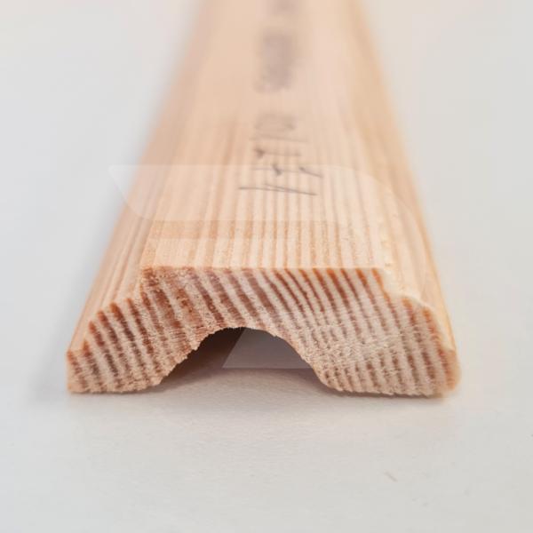 12x35x2200 Barkácsléc csomómentes díszmart (ajtó szegőléc)