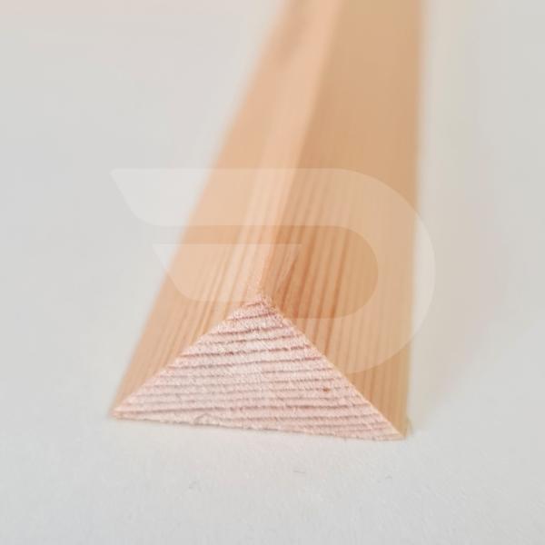 20x20x2200 Barkácsléc csomómentes (háromszög)