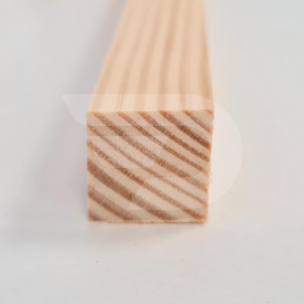 20x20x2200 Barkácsléc csomómentes (négyzet)