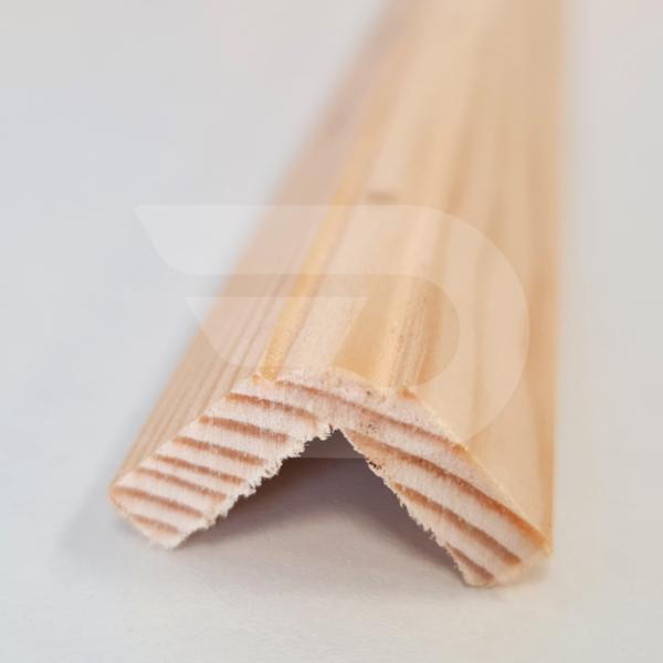20x20x2200 Barkácsléc csomómentes díszmart (pipaléc)