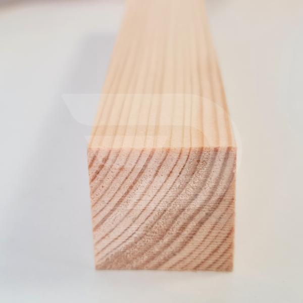 30x30x2000 Barkácsléc csomós (négyzet)