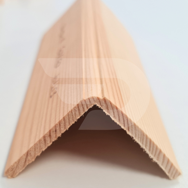 60x60x2200 Barkácsléc csomós díszmart (pipaléc)
